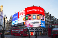 London Calling: 2018 Annual Benefit Piccadilly Circus Sponsorship